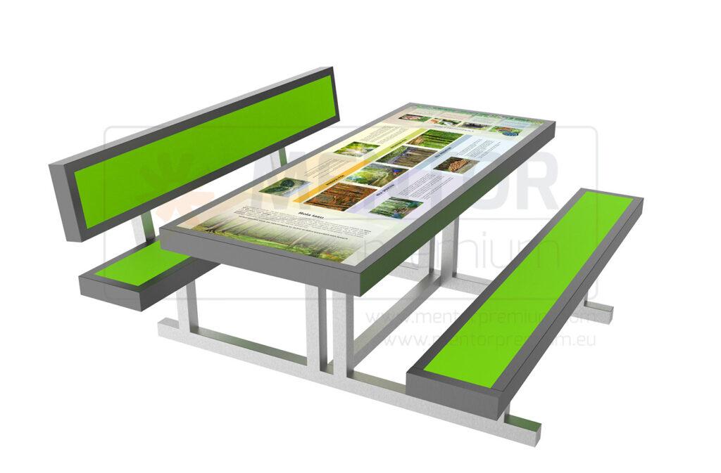 Mensa – Educational field table