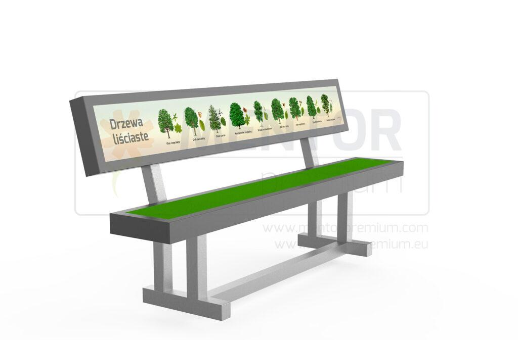 Ike –  Educational field bench